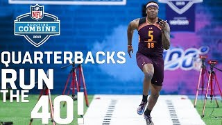 Download Quarterbacks Run the 40-Yard Dash | 2019 NFL Scouting Combine Highlights Mp3 and Videos