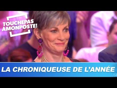 Isabelle Morini-Bosc Remporte Le Trophée De La Meilleure Chroniqueuse De L'année