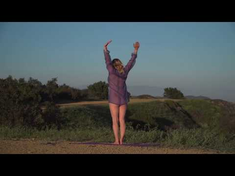Nearly Nude Yoga by Maren Sun Salutation Rear View