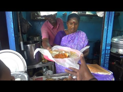 Woman Power - Amma Manages Everything - Street Food Chennai Mint Street