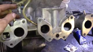 Рассверливание Впускного коллектора Chevrolet lanos ( правильное со снятием )  И Глушим клапан ЕГР