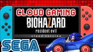 Massive News: Cloud Gaming and Resident Evil 7 Coming to Switch   New Sonic Sega Racing Info