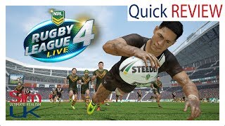 Best Rugby Game Since Jonah Lomu Rugby? | Rugby League Live 4 Review by Sim UK