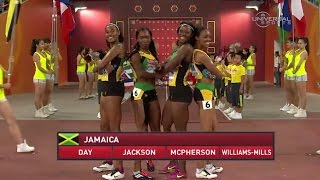 Jamaica runs down USA in 4x400m Champs - Universal Sports