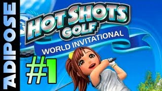 Hot Shots Golf Playthrough - FIRST LOOK! PS3 - World invitational. Everybodys Golf