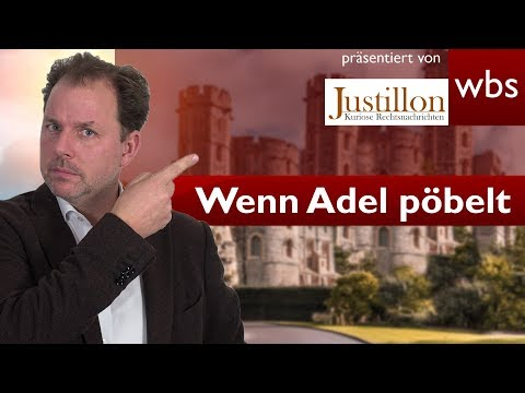 Wenn der Adel pöbelt - Zoff um Schloss-Parkplatz | RA Christian Solmecke