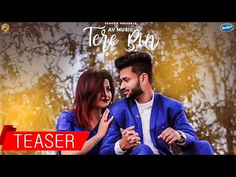 Tere Bin | Official Teaser | AV Music | Tarik Khan | New Hindi Song | Music & Sound