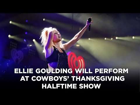 Ellie Goulding will perform at Cowboys' Thanksgiving halftime show, as originally planned