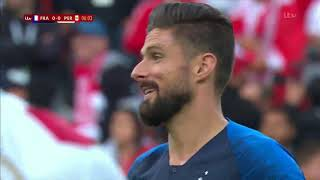 FIFA World Cup Russia 2018 France VS Peru