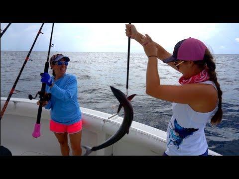 GIRLS ONLY Offshore Fishing Tournament! Kingfish And Sailfish!