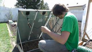 How To Hydroponics - S02E18 Solar Panels For a Greenhouse