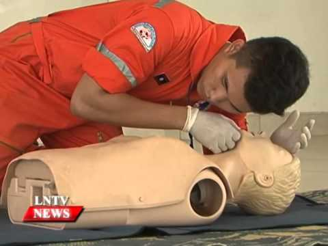 Lao NEWS on LNTV: Laos marks World First Aid Day.21/9/2015