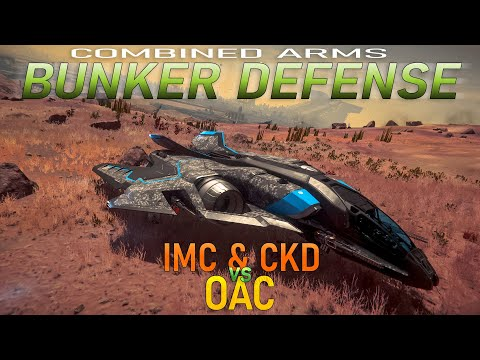 PVP: Combined Arms Bunker Defense | IMC/CKD vs OAC (Star Citizen Alpha 3.7.2 Gameplay)