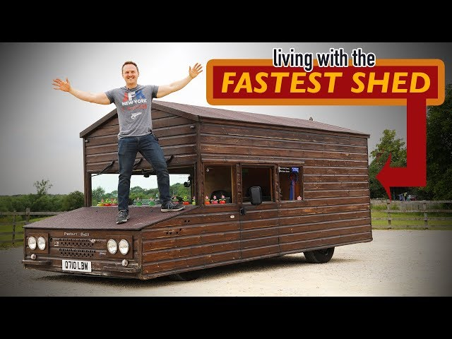 Can You Daily Drive A 455hp V8 Shed?