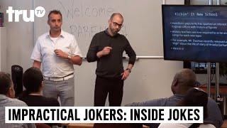 Impractical Jokers: Inside Jokes - Joe and Murr's Education Innovations Mortify Parents | truTV