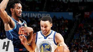 Golden State Warriors vs Oklahoma City Thunder - Highlights | March 16, 2019 | 2018-19 NBA Season