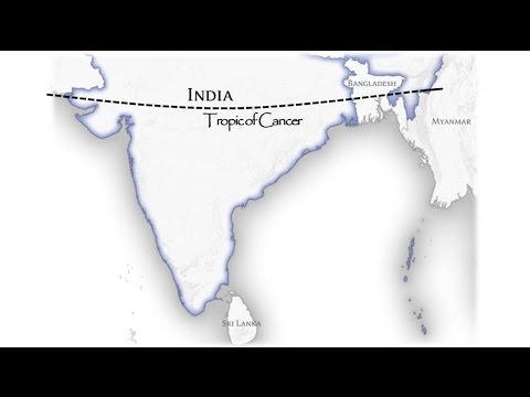 Geography of India - Location, Area, Boundaries