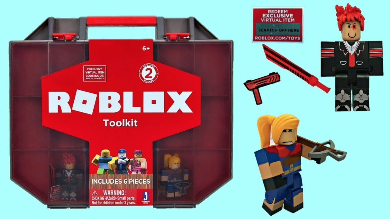 Roblox Toolbox Toy Roblox Collector S Case Code Toolkit Youtube