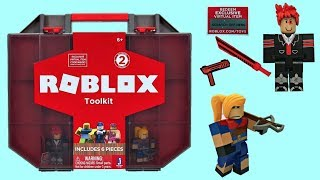 Roblox Collector's Case, Toy - Code, Toolkit, Unboxing - Toy Review #robloxtoys