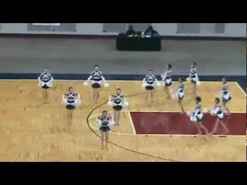 Hotchkiss High School Dance Team-Poms 2010 State