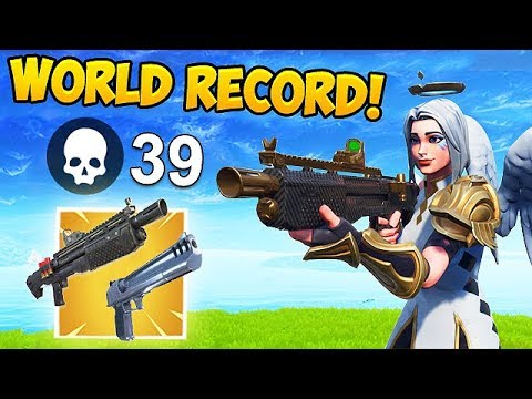 *WORLD RECORD* 39 KILLS IN ONE SHOT! - Fortnite Funny Fails and WTF Moments! #453