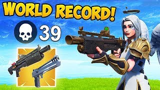 *NEW WORLD RECORD* 39 KILLS  IN SOLOS! - Fortnite Funny Fails and WTF Moments! #453