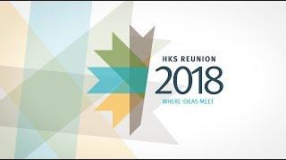 Harvard Kennedy School Reunion 2018