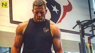 「規格外の身体能力」J. J・ワットのトレーニング【アメフト・NFL】