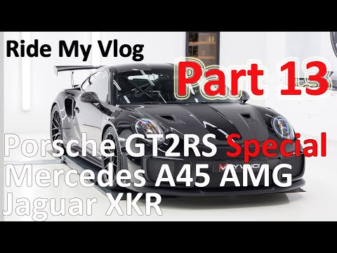 High End Car Detailing Ride My Vlog 13 with the Porsche GT2RS Special!