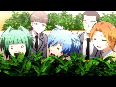 """Assassination Classroom """"He's prince Charming"""" Clip Eng Dub"""