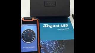 Teléfono Walkie Talkie, luz láser, doble SIM, WIFI, GPS... DLIKE- GRUPO DIGITAL