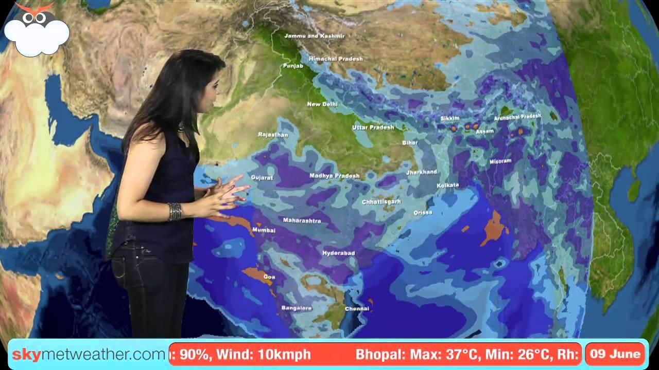 9 June Monsoon Update: Skymet Weather