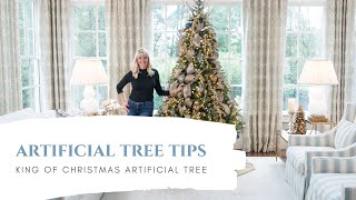 How to Make your Artificial Christmas tree look real!