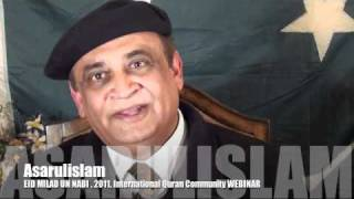Video EID MILAD UN NABI 2011 WEBINAR by Dr. Asarulislam part 04 of 06 download MP3, 3GP, MP4, WEBM, AVI, FLV Oktober 2017