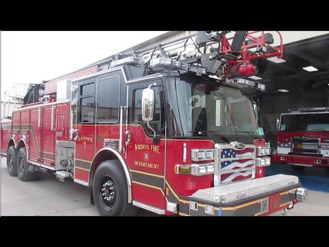 Wichita KS NEW Ladder 1!! 2015 Pierce Dash CF 75' PUC