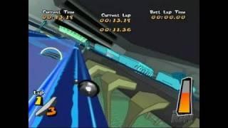 Mercury Meltdown Revolution Nintendo Wii Gameplay - Zoom!