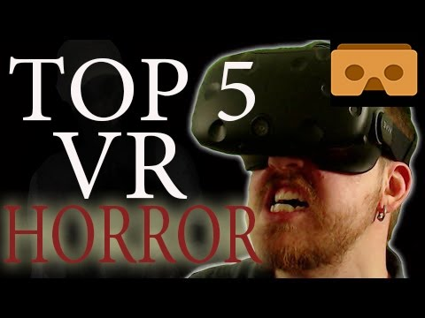 TOP 5  VR  HORROR Games. 2017. Android & IOS. BEST.  VR BOX. Google Cardboard.