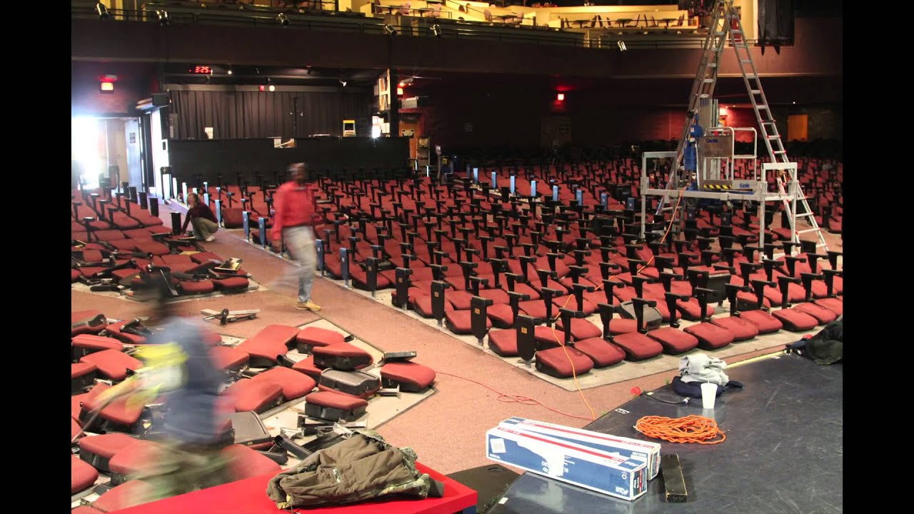 Clay Cooper Theatre Seats Time Lapse Part 1