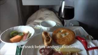 """Alitalia Business Class """"Magnifica"""" Rome - Miami"""