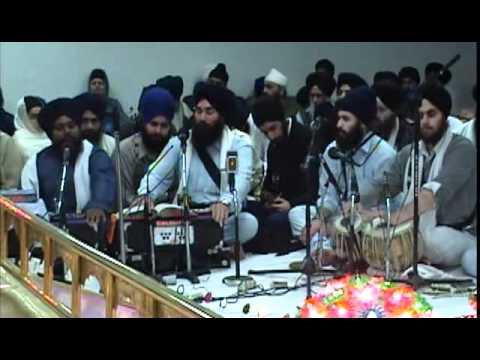 Bhai Ranjit Singh Ji Jammu, LA Nov. 2008 Rainsbai.avi