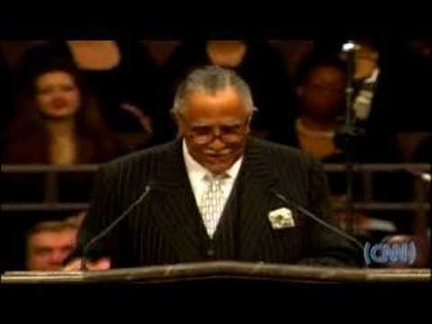 Rev. Dr. Joseph Lowery at Coretta Scott King's funeral