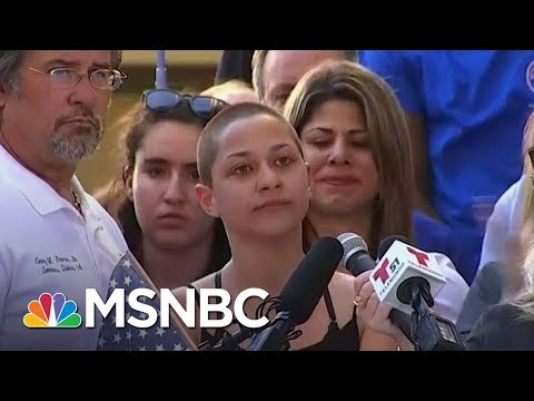 President Donald Trump Uses Parkland Shooting To Deflect From Russia Probe | AM Joy | MSNBC