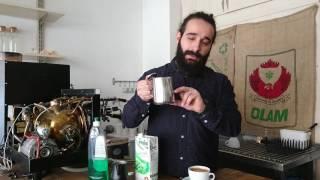 Latte art nasıl yapılır? -  Bölüm 1