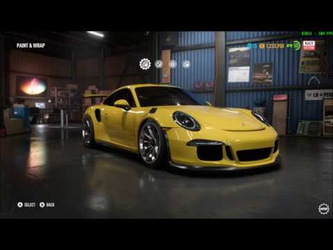 Need For Speed Payback - Porsche 911 GT3 RS - Buy, Test Drive, Customize, Performance Mods, and Race