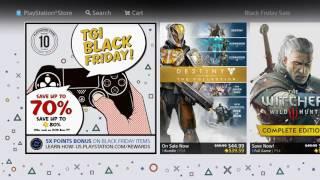 PS4 BLACK FRIDAY SALE PSN PLUS FREE AVATARS & THEMES!!!