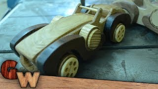 Making A Classic Wooden Toy Car
