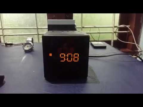 Sony Radio FM/AM Alarm Clock ICF-C1 configuration, set alarm, time, date etc.