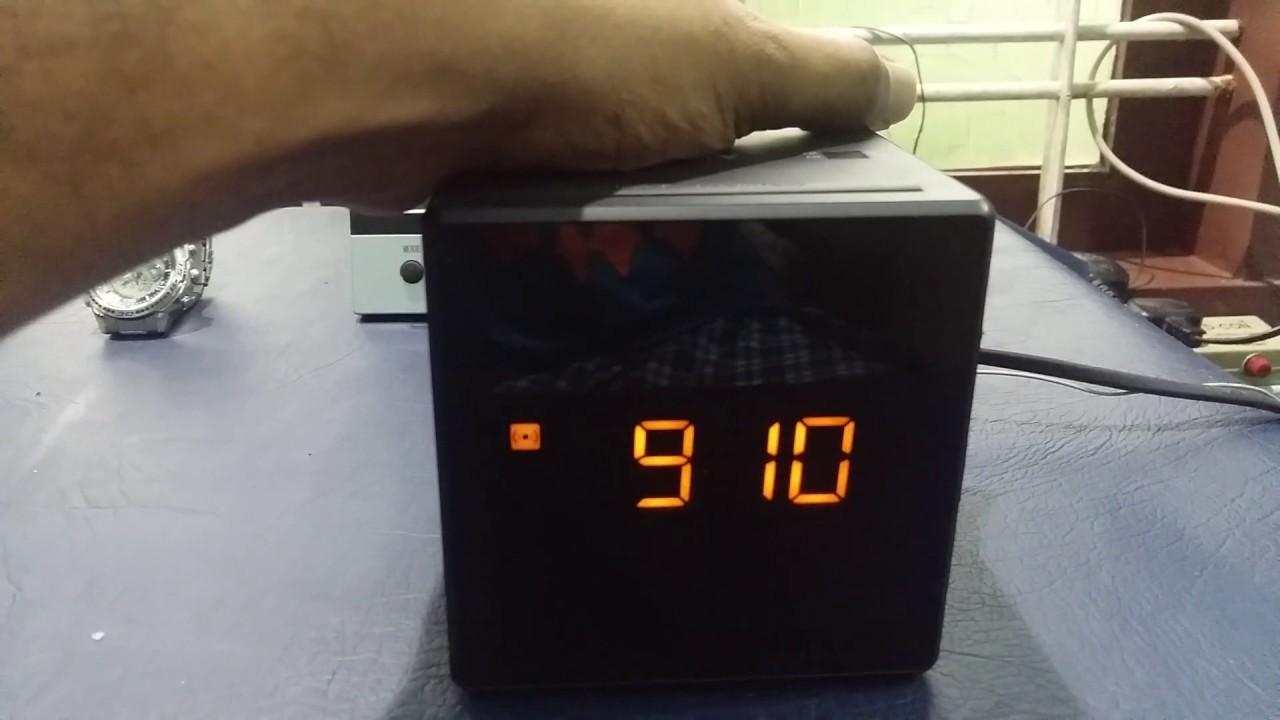 6184615a7f9 Sony Radio FM AM Alarm Clock ICF-C1 configuration