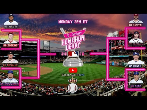 2018 Home Run Derby odds and p home run derby 2018