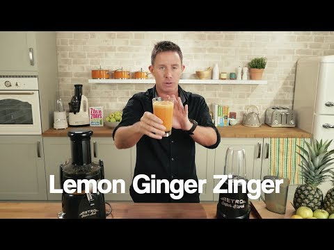 Lemon Ginger Zinger Jason Vale Juice Recipe